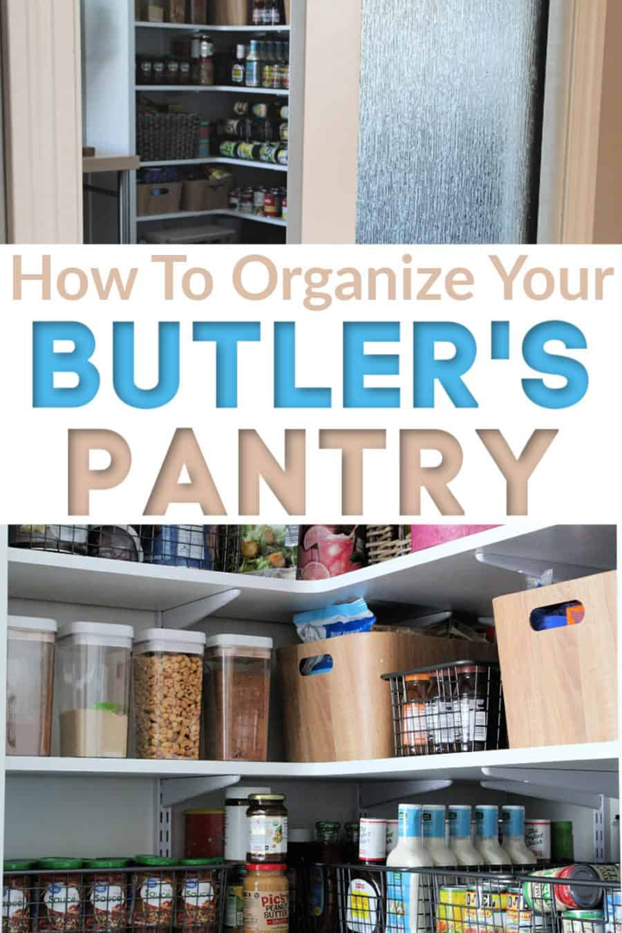 Organizing My Butlers Pantry {And Why Every Home Needs This Space!}