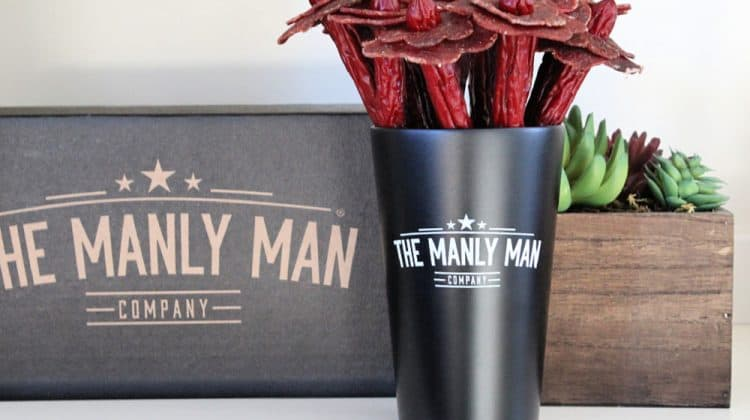 What Men Really Want This Valentines Day (+ Manly Man Co. Jerky GIVEAWAY!) - Beef Jerky Flower Bouquet - Black Steel Edition 1