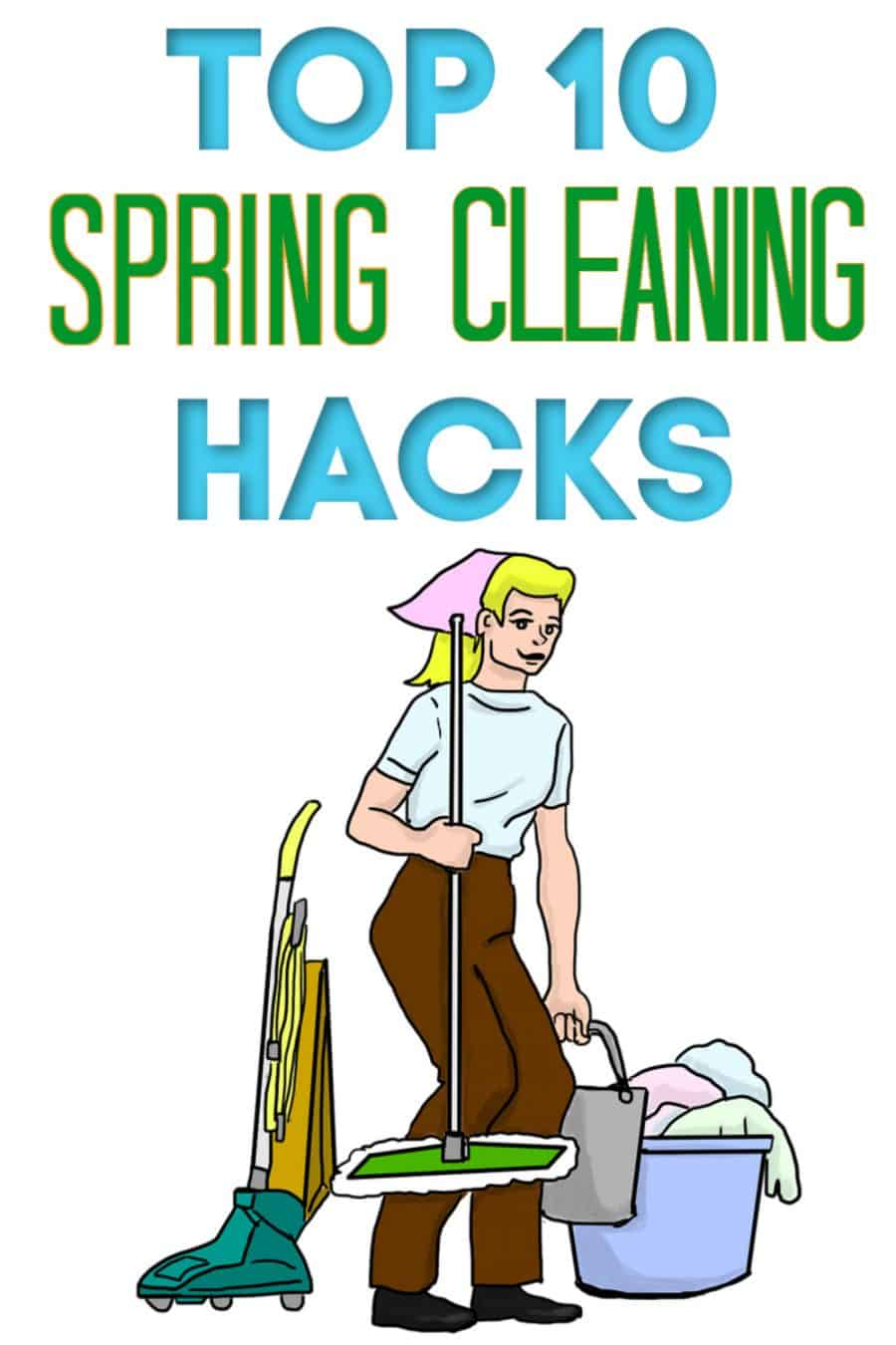 10 Spring Cleaning Hacks From The Libman Company
