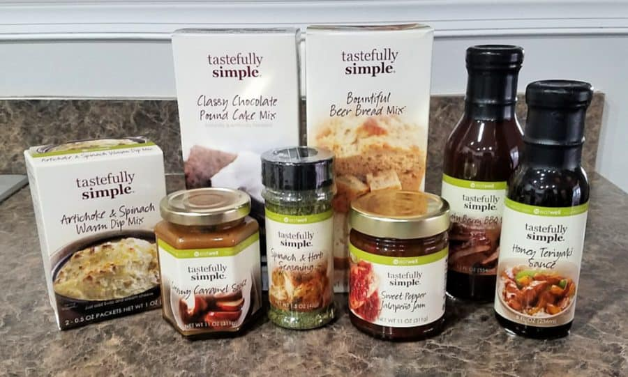 Tastefully Simple Get Together Kit