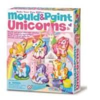 Mould & Paint Unicorns - Just Add Glitter!