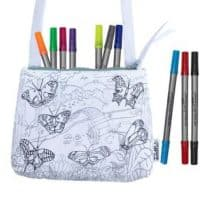 Butterfly Crossbody Bag - Doodle Your Own!