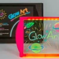 Glow Art - Neon Effect Drawing Board (Pink)