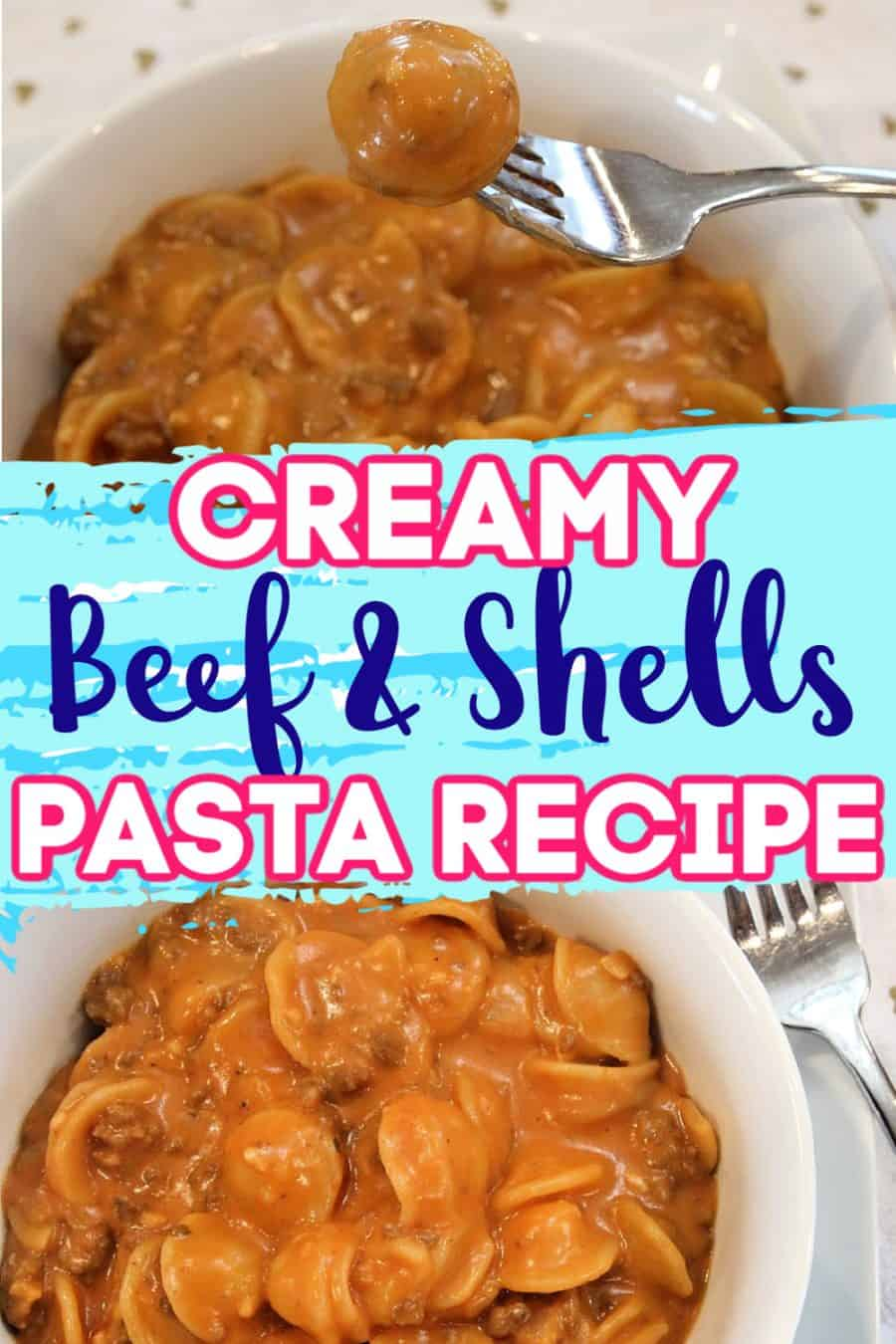 Creamy Beef And Shells Pasta Recipe