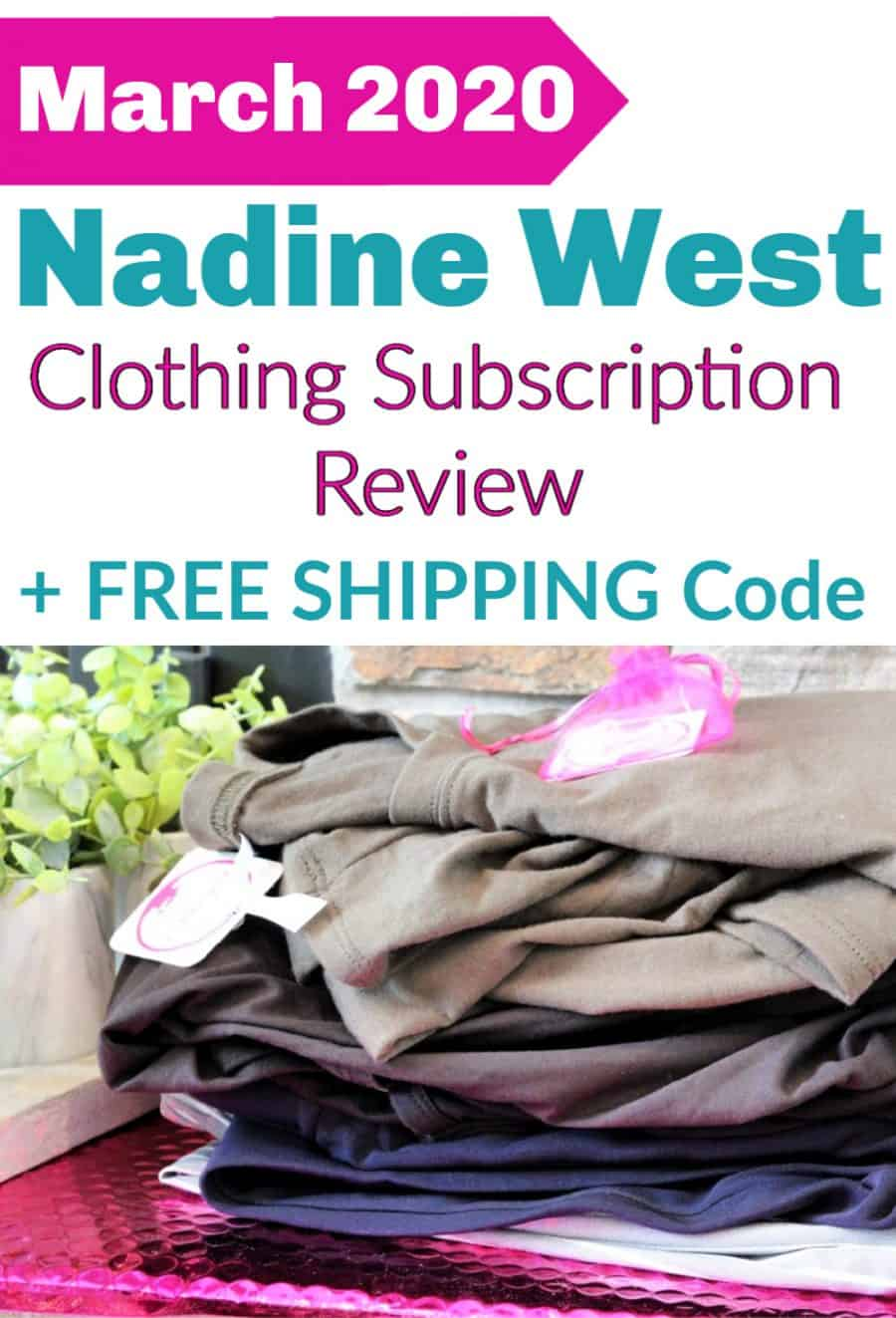 March 2020 Nadine West Subscription Review {+ Free Shipping Coupon Code}