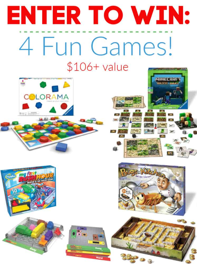 Ravensburger Trio Of Brands_ThinkFun Giveaway