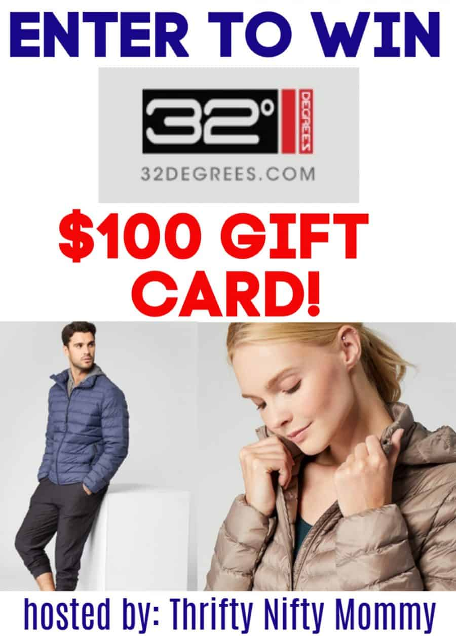 32 Degrees Giveaway - Affordable Spring Attire