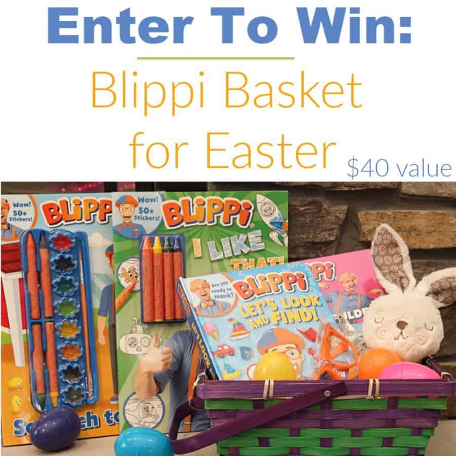 Blippi Basket for Easter! - Enter To Win Our Giveaway!