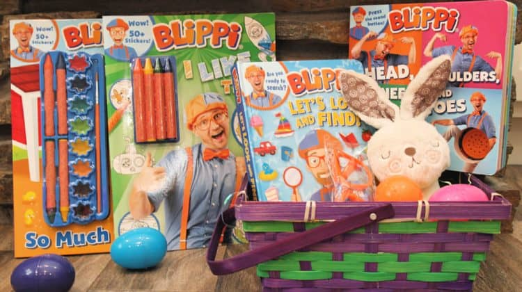 Blippi Basket for Easter!