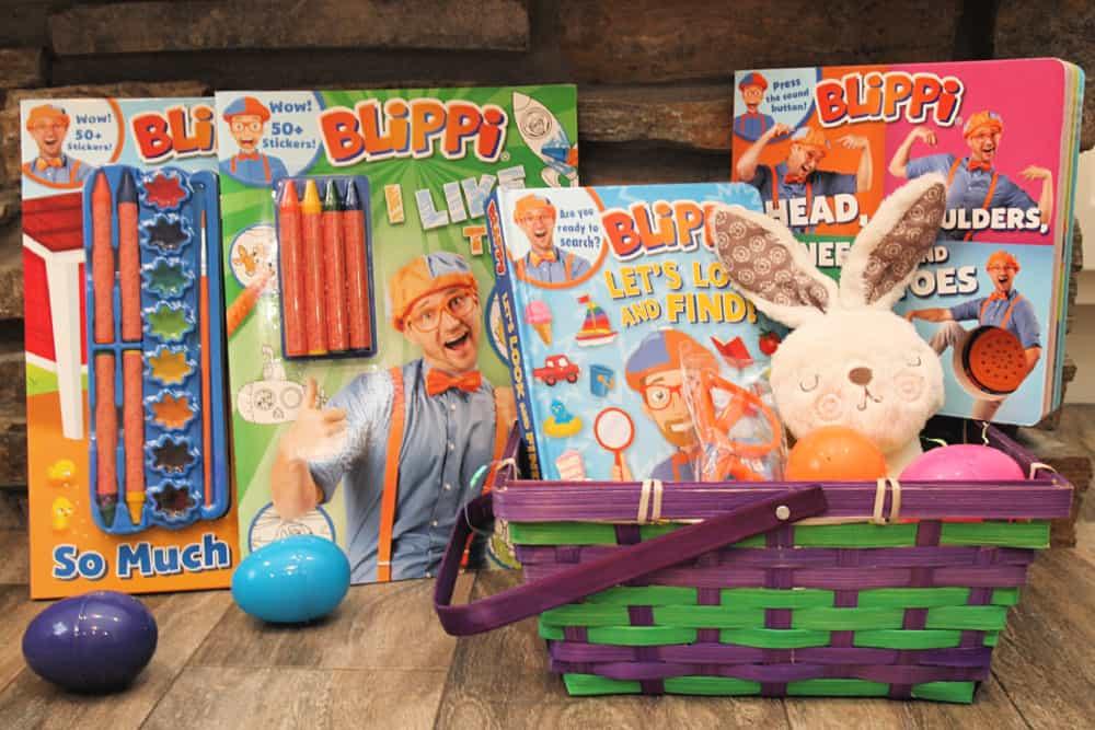 Blippi Basket for Easter!