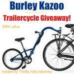 Burley Kazoo Trailercycle Tagalong Giveaway