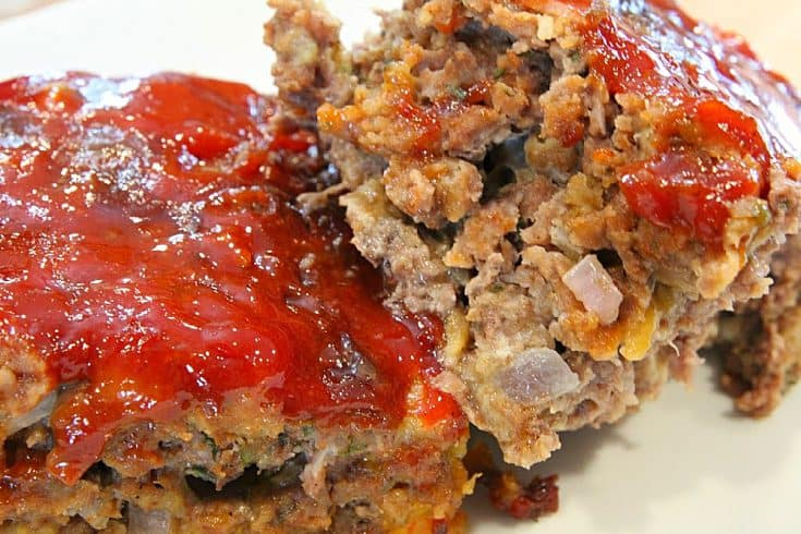 Classic Cheesy Meatloaf Recipe
