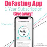 DoFasting App 1 year subscription giveaway