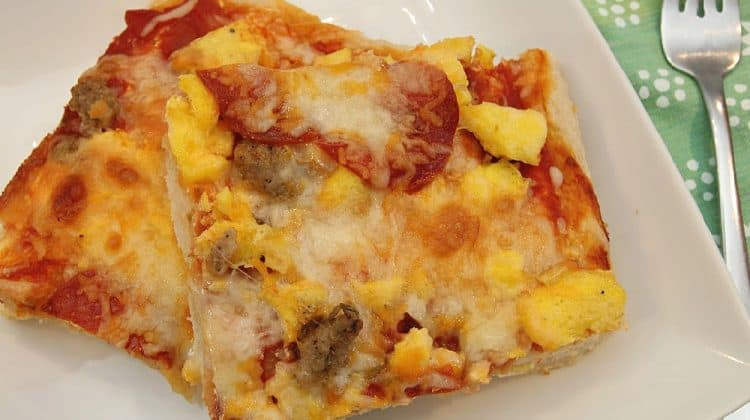 Hearty Sausage Breakfast Pizza Recipe - The Best You've Ever Tasted! (1)