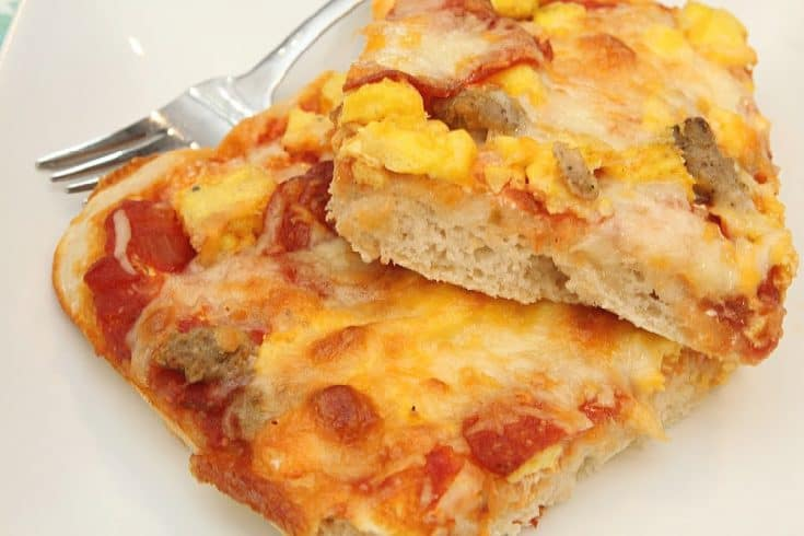 Hearty Sausage Breakfast Pizza Recipe - The Best You've Ever Tasted!