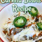 Irresistible Beef Carnita Bowls Recipe