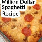 Three Meat Million Dollar Spaghetti Recipe