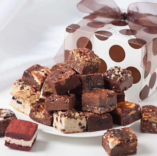 Brownie Plates - Brownie Points Gourmet Baby Brownies