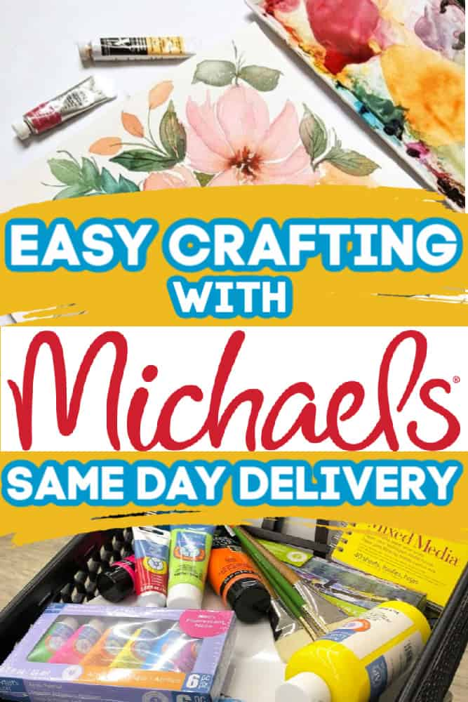 Easy Rainbow Cupcakes Recipe + Incorporating Arts & Crafts Into Home Education Routines With Michaels Same Day Delivery