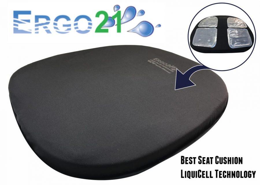 seat cushion - Ergo21 Giveaway - Enter To Win A Travel Cushion + Bike Cushion Duo!