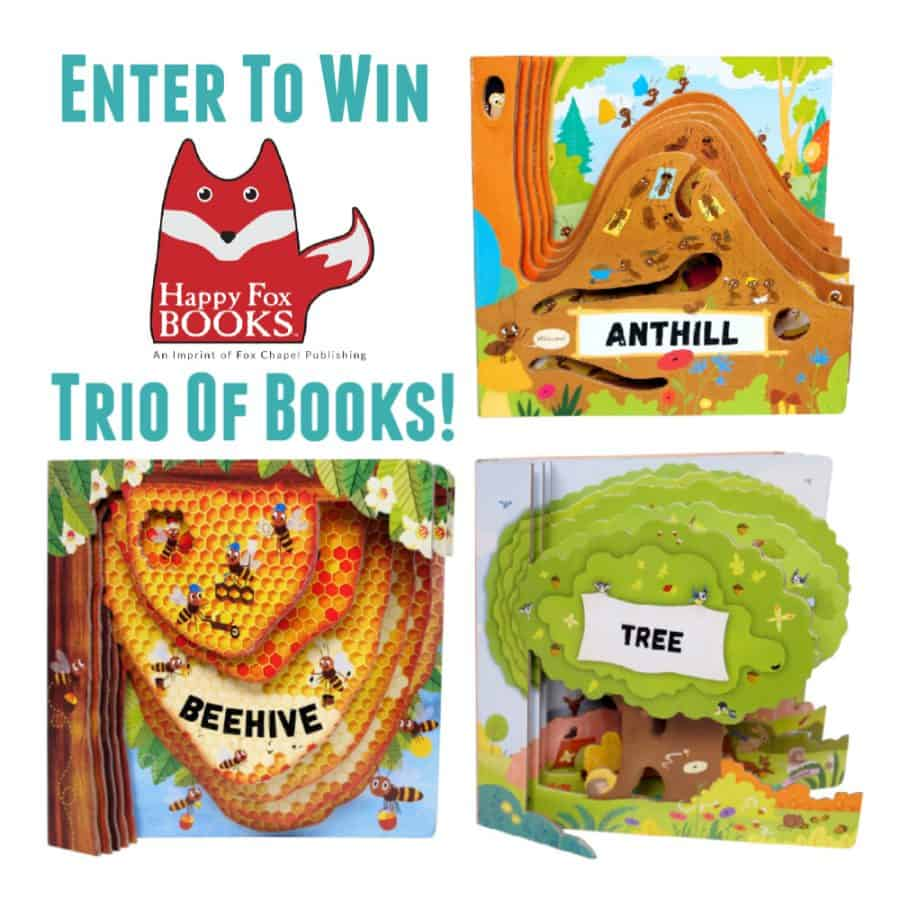 Happy Fox Books Giveaway
