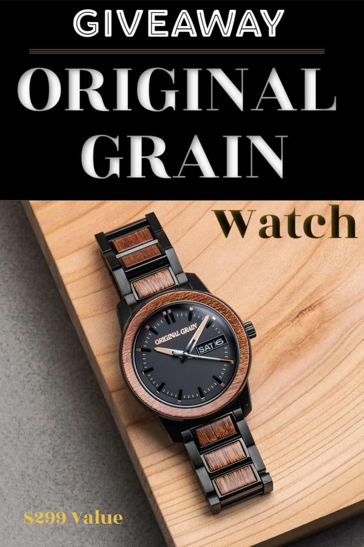men's watch giveaway photo