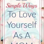 woman in bath - 12 Simple Ways To Love Yourself As A Mom