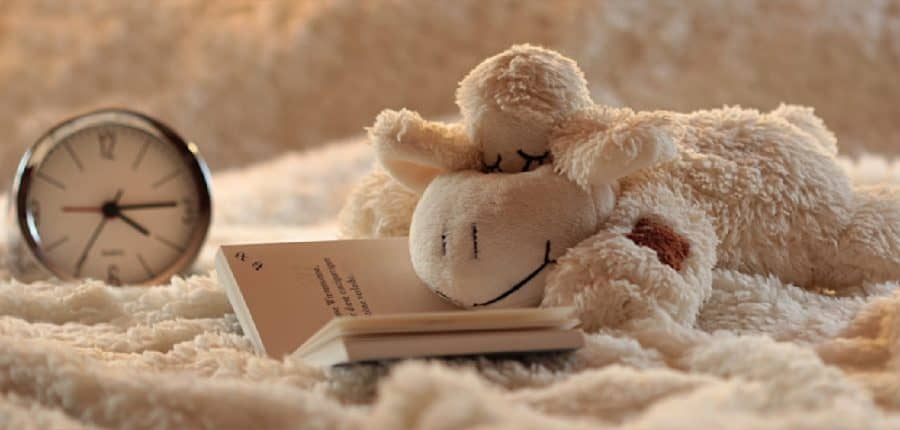 Alarm Clock & Stuffed Lamb - 12 Simple Ways To Love Yourself As A Mom