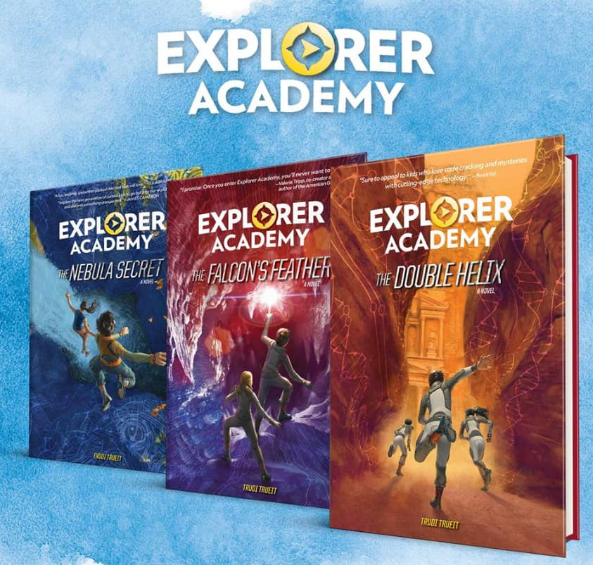 Explorer Academy Books - Awesome Adventure Chapter Books For Kids + More Nat Geo Must Haves!