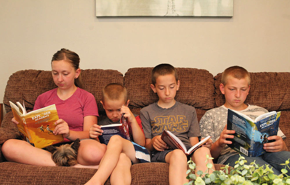 Kids Reading - Awesome Adventure Chapter Books For Kids + More Nat Geo Must Haves!