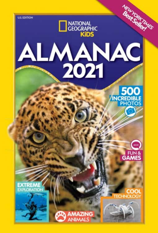almanac book - Awesome Adventure Chapter Books For Kids + More Nat Geo Must Haves!