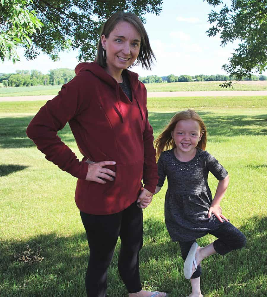 mom and daughter - Love And Fit Activewear For Moms - 12 Simple Ways To Love Yourself As A Mom