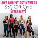 Love And Fit Giveaway