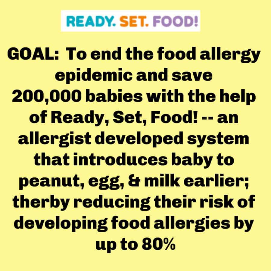 Meme - Preventing Childhood Food Allergies [With Ready, Set, Food!]