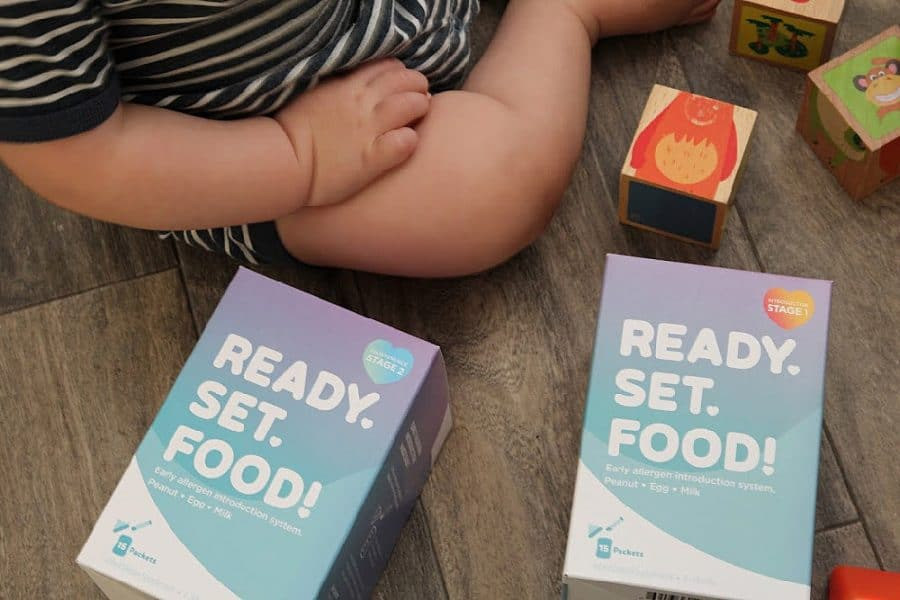 baby - Preventing Childhood Food Allergies [With Ready, Set, Food!]