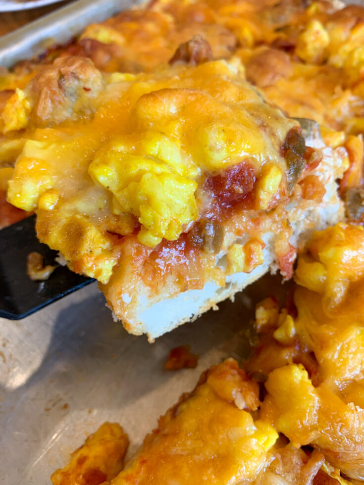 Hearty and Delicious Breakfast Pizza