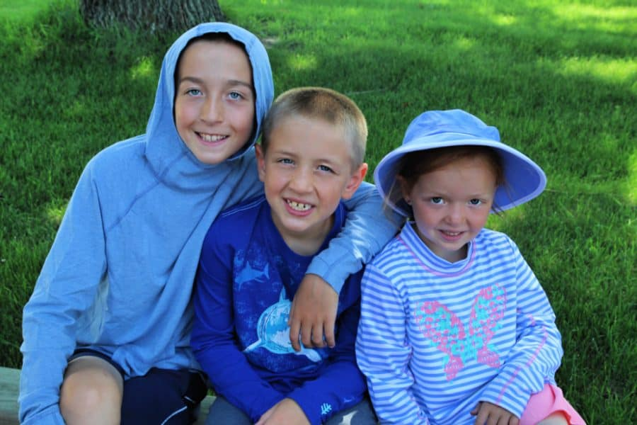 3 kids - Sun And Water Safety Tips - Keeping Kids Safe