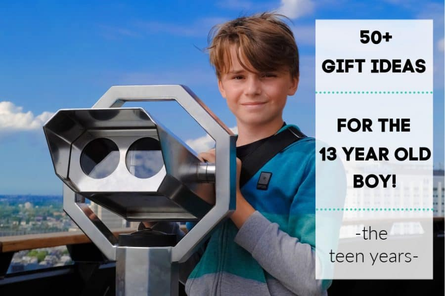 boy - Ultimate 13 Year Old Boy Gift Guide