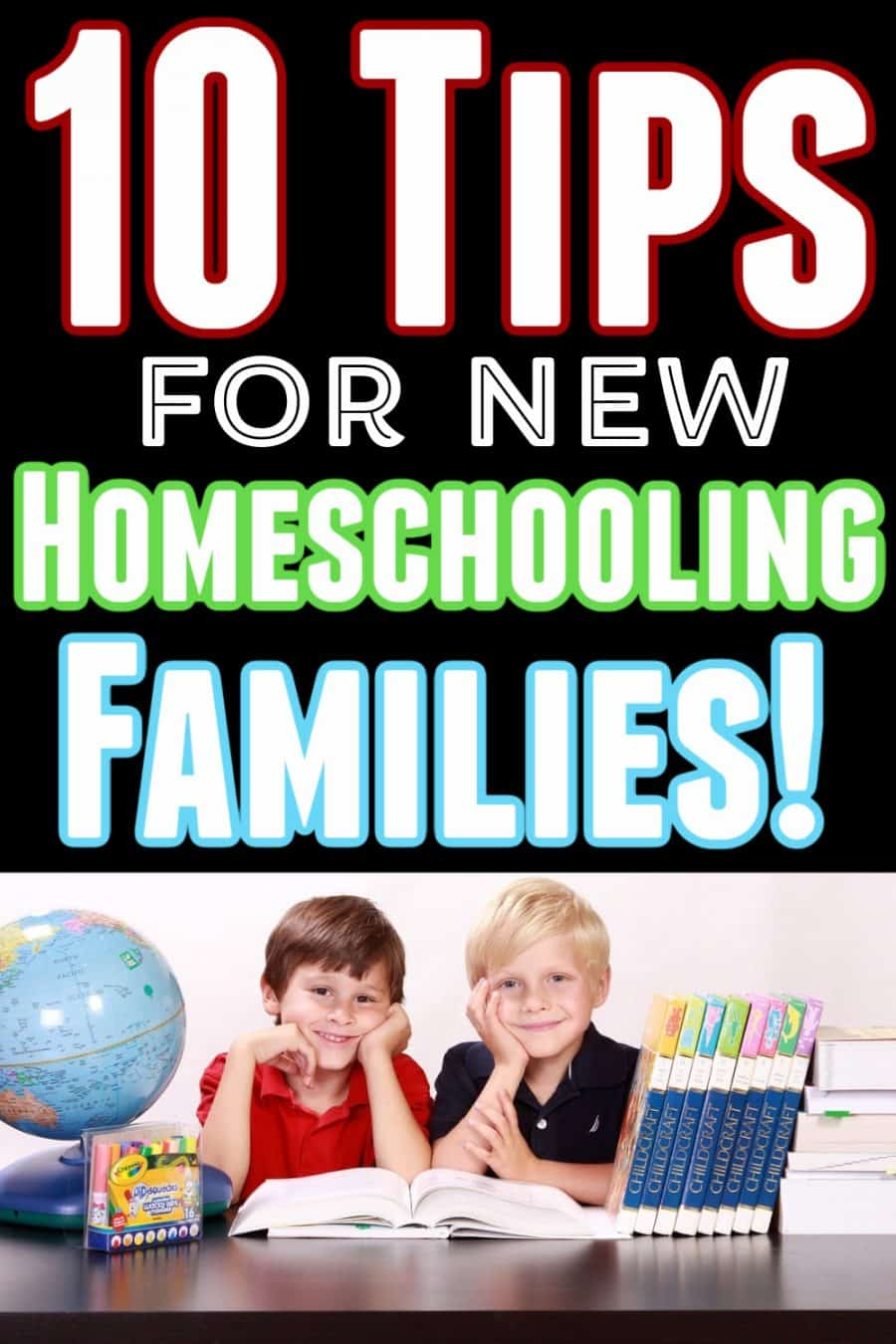kids - 10 Tips For New Homeschooling Families