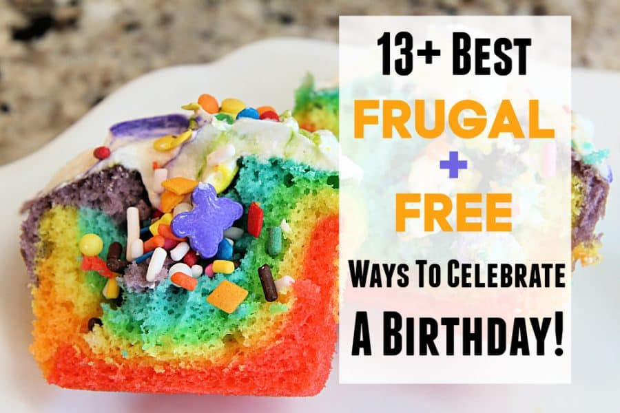 cupcake - 13+ Best Frugal And Free Ways To Celebrate Birthdays