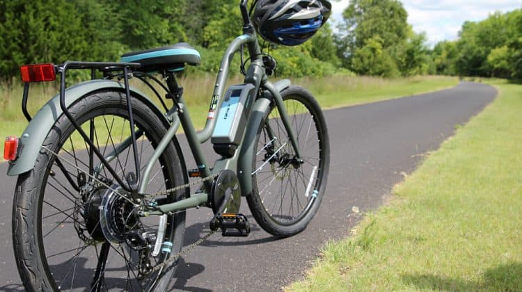electric bike - Beginners Guide To Family Biking - iZip Simi Step Through Electric Bike