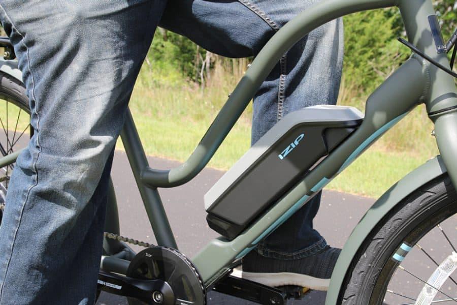 electric bike - Beginners Guide To Family Biking - iZip Simi Step Through Electric Bike