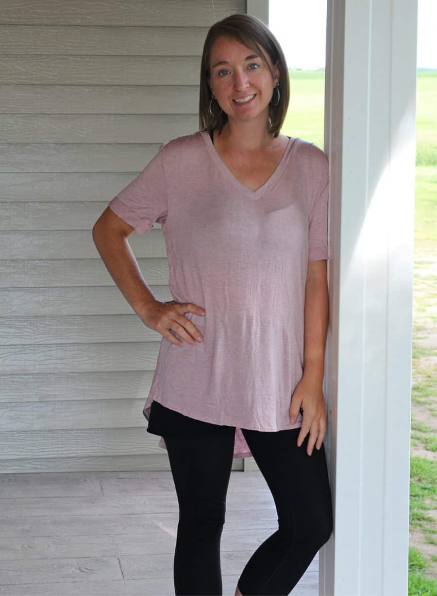 woman standing - Cheapest Clothing Subscription Option - A Nadine West Review