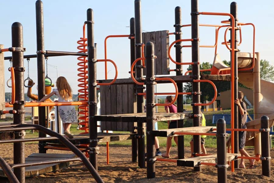playground - Jellystone - Top 10 Things To Do In Sioux Falls + The Best Place To Stay!