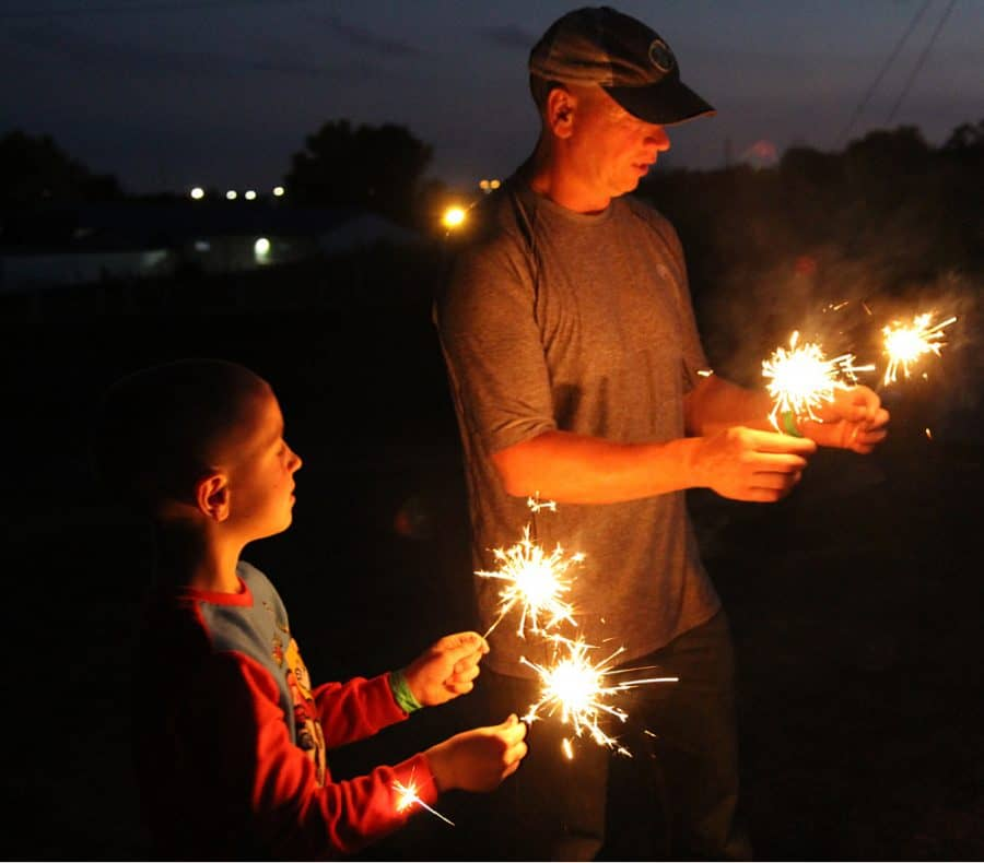 campfire sizzle sticks - Jellystone - Top 10 Things To Do In Sioux Falls + The Best Place To Stay!