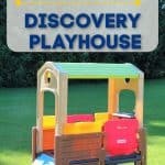 Simplay3 Discovery Playhouse on grass