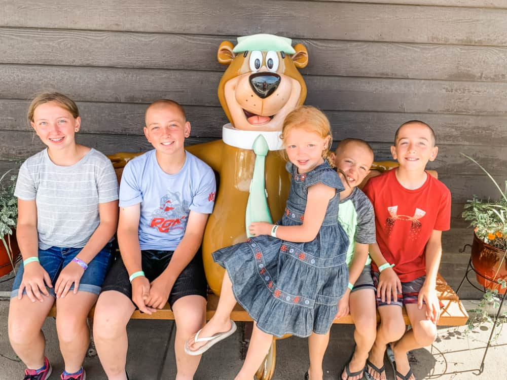 kids and Yogi Bear - Top 10 Things To Do In Sioux Falls + The Best Place To Stay!