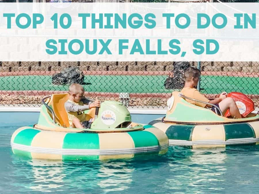 kids on bumper boats - Top 10 Things To Do In Sioux Falls, South Dakota