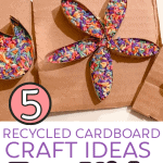5 Recycled Cardboard Craft Ideas for Kids