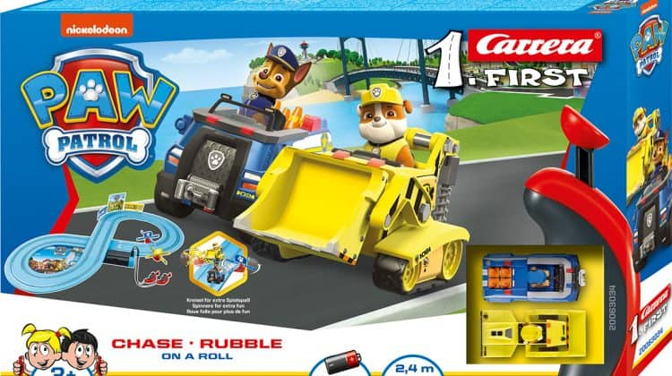 Carrera FIRST Paw Patrol Race Track Giveaway